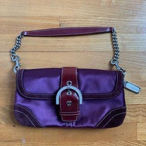 Women s Purple Coach Evening Bag on Poshmark 3507bbcc37